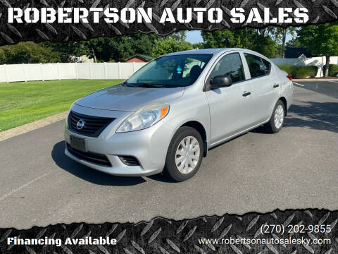 2014 Nissan Versa for sale at ROBERTSON AUTO SALES in Bowling Green KY