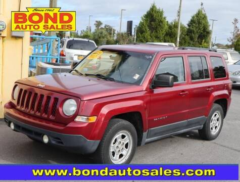 2012 Jeep Patriot for sale at Bond Auto Sales in St Petersburg FL