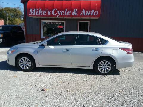 2015 Nissan Altima for sale at MIKE'S CYCLE & AUTO - Mikes Cycle and Auto (Liberty) in Liberty IN