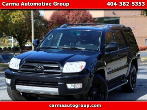 2004 Toyota 4Runner for sale at Carma Auto Group in Duluth GA