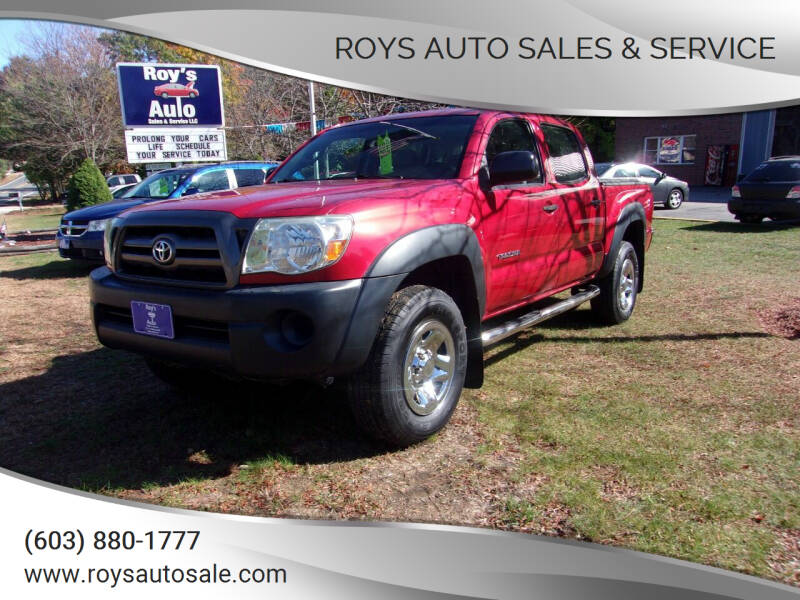 2009 Toyota Tacoma for sale at Roys Auto Sales & Service in Hudson NH