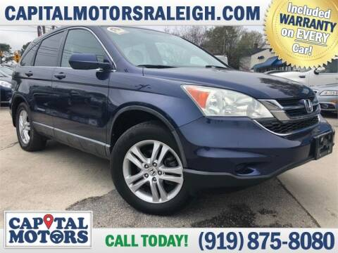 2010 Honda CR-V for sale at Capital Motors in Raleigh NC