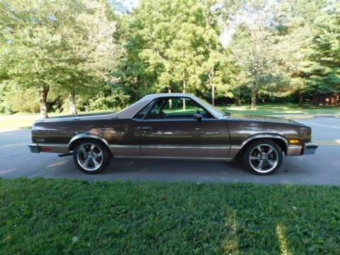 1984 Chevrolet El Camino for sale at Classic Car Deals in Cadillac MI
