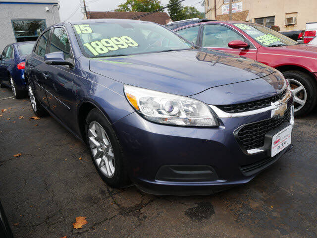 2015 Chevrolet Malibu for sale at M & R Auto Sales INC. in North Plainfield NJ