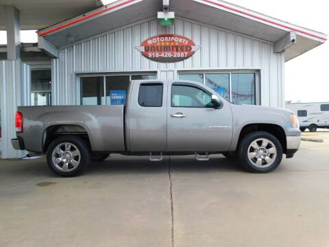 2009 GMC Sierra 1500 for sale at Motorsports Unlimited in McAlester OK