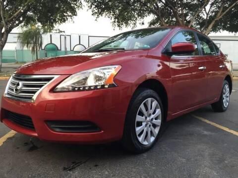 2014 Nissan Sentra for sale at MIAMI AUTO LIQUIDATORS in Miami FL