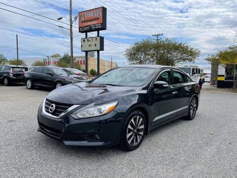2016 Nissan Altima for sale at Autohaus of Greensboro in Greensboro NC