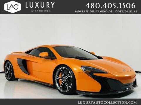 2015 McLaren 650S Coupe for sale at Luxury Auto Collection in Scottsdale AZ