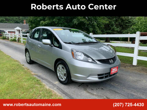 2012 Honda Fit for sale at Roberts Auto Center in Bowdoinham ME