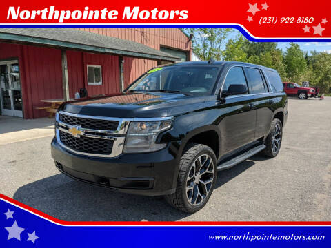 2016 Chevrolet Tahoe for sale at Northpointe Motors in Kalkaska MI
