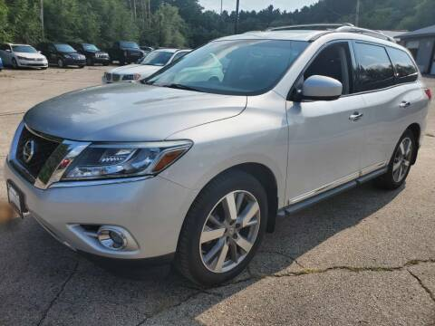 2015 Nissan Pathfinder for sale at Extreme Auto Sales LLC. in Wautoma WI