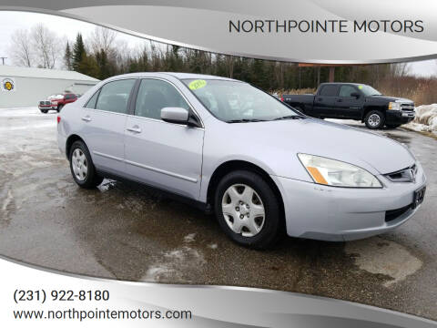 2005 Honda Accord for sale at Northpointe Motors in Kalkaska MI