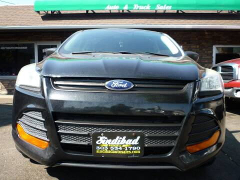 2014 Ford Escape for sale at Sindibad Auto Sale, LLC in Englewood CO