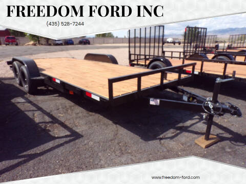 2021 FF OFFROAD 7x18 Tandem Axle for sale at Freedom Ford Inc in Gunnison UT