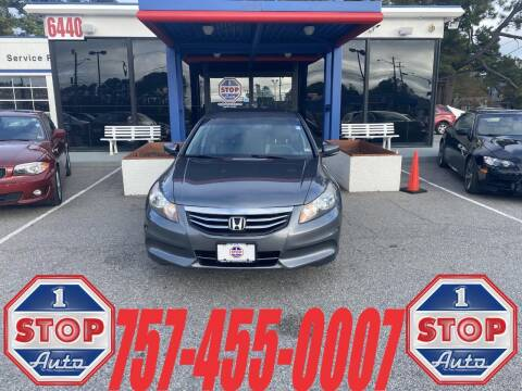 2012 Honda Accord for sale at 1 Stop Auto in Norfolk VA