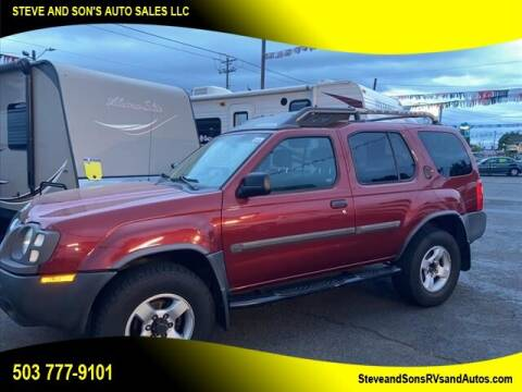 2004 Nissan Xterra for sale at Steve & Sons Auto Sales in Happy Valley OR