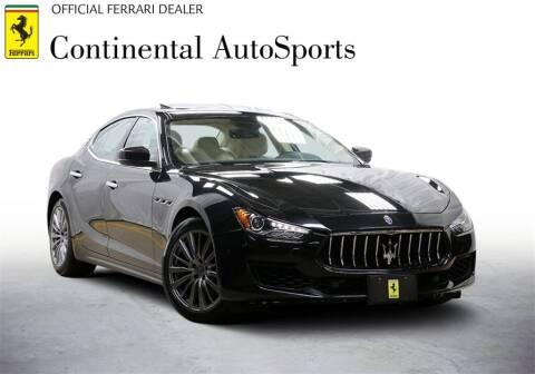 2018 Maserati Ghibli for sale at CONTINENTAL AUTO SPORTS in Hinsdale IL