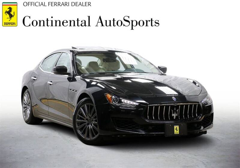 2018 Maserati Ghibli for sale at CONTINENTAL AUTO SPORTS in Hinsdale IL