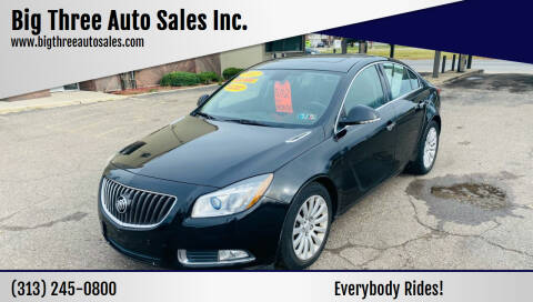 2012 Buick Regal for sale at Big Three Auto Sales Inc. in Detroit MI