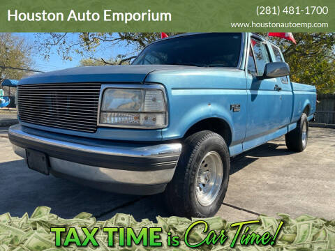 1993 Ford F-150 for sale at Houston Auto Emporium in Houston TX