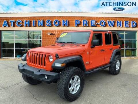 2018 Jeep Wrangler Unlimited for sale at Atchinson Ford Sales Inc in Belleville MI