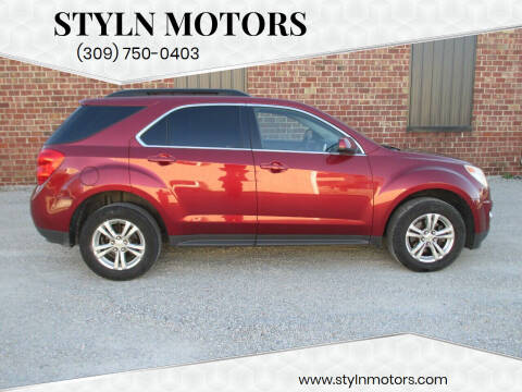 2010 Chevrolet Equinox for sale at Styln Motors in El Paso IL