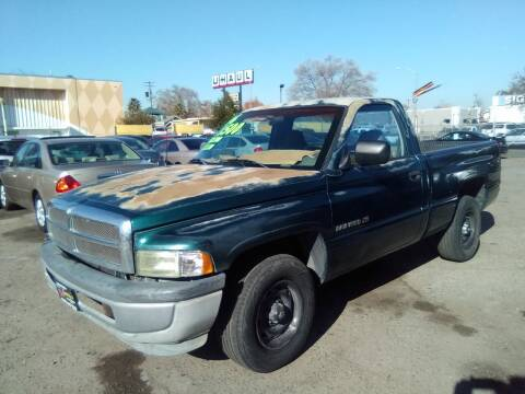 1996 Dodge Ram Pickup 1500 for sale at Larry's Auto Sales Inc. in Fresno CA