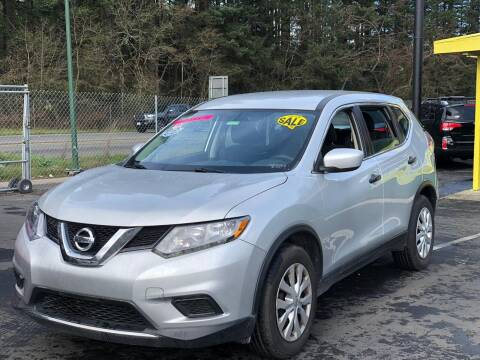 2016 Nissan Rogue for sale at ALHAMADANI AUTO SALES in Spanaway WA