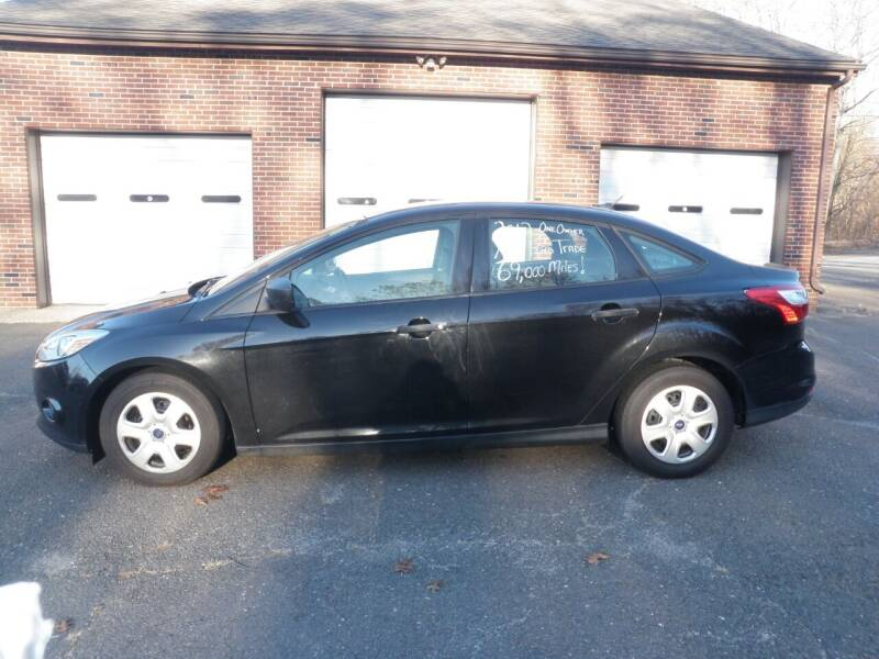 2012 Ford Focus for sale at Wolcott Auto Exchange in Wolcott CT