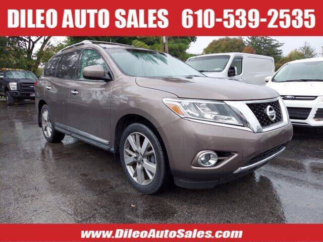 2013 Nissan Pathfinder for sale at Dileo Auto Sales in Norristown PA