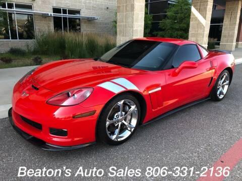 2011 Chevrolet Corvette for sale at Beaton's Auto Sales in Amarillo TX