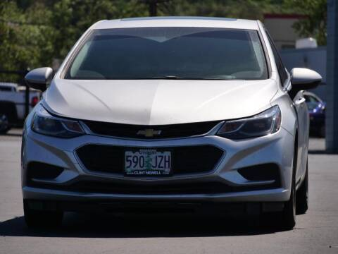 2018 Chevrolet Cruze for sale at CLINT NEWELL USED CARS in Roseburg OR