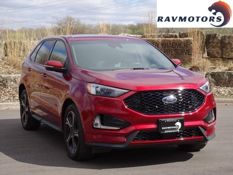 2019 Ford Edge for sale at RAVMOTORS in Burnsville MN