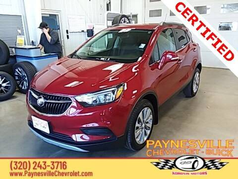 2019 Buick Encore for sale at Paynesville Chevrolet - Buick in Paynesville MN