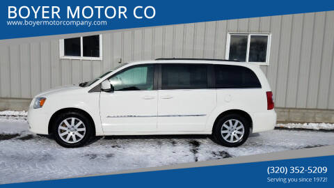 2012 Chrysler Town and Country for sale at BOYER MOTOR CO in Sauk Centre MN
