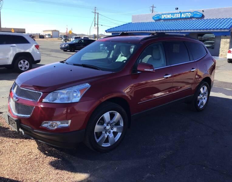 2012 Chevrolet Traverse for sale at SPEND-LESS AUTO in Kingman AZ