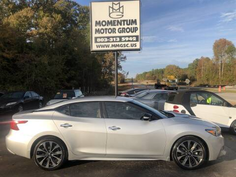 2016 Nissan Maxima for sale at Momentum Motor Group in Lancaster SC