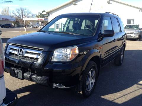 2008 Honda Pilot for sale at Steves Auto Sales in Cambridge MN