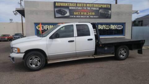 2003 Dodge Ram Pickup 3500 for sale at Advantage Motorsports Plus in Phoenix AZ