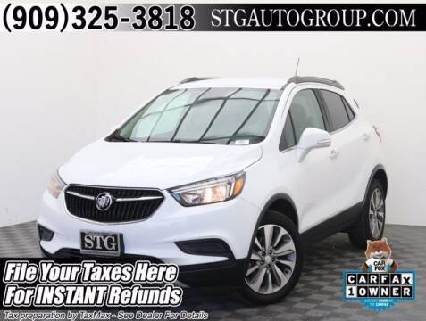 2019 Buick Encore for sale at STG Auto Group in Montclair CA