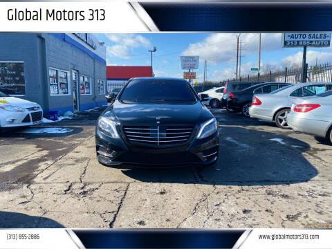 2015 Mercedes-Benz S-Class for sale at Global Motors 313 in Detroit MI