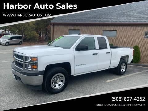 2014 Chevrolet Silverado 1500 for sale at Harbor Auto Sales in Hyannis MA