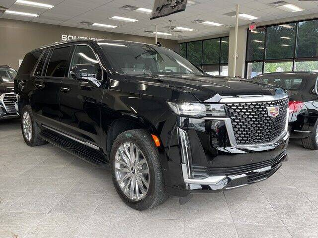 2021 Cadillac Escalade ESV for sale at SOUTHFIELD QUALITY CARS in Detroit MI