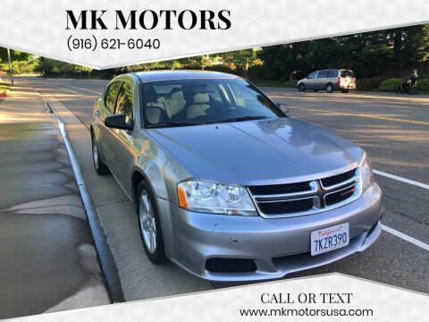2013 Dodge Avenger for sale at MK Motors in Sacramento CA