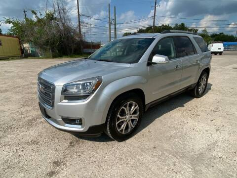 2013 GMC Acadia for sale at RODRIGUEZ MOTORS CO. in Houston TX