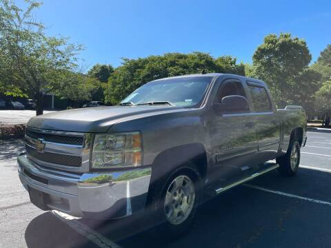 2012 Chevrolet Silverado 1500 for sale at Car Online in Roswell GA
