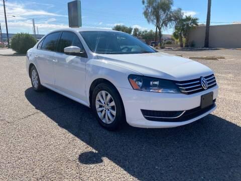 2014 Volkswagen Passat for sale at Ram Auto Sales LLC in Phoenix AZ