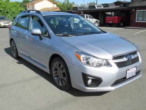 2014 Subaru Impreza for sale at Tonys Toys and Trucks in Santa Rosa CA