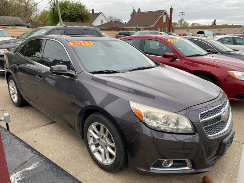 2013 Chevrolet Malibu for sale at Matthew's Stop & Look Auto Sales in Detroit MI
