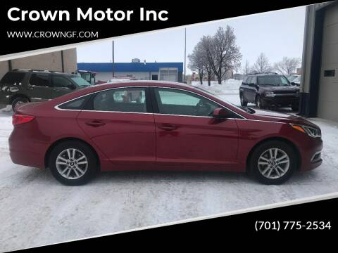 Hyundai Sonata for sale at Crown Motor Inc in Grand Forks ND